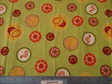 "Jill Finley for Henry Glass & Co ""Sorbet Garden"" Cotton Fabric  PATT #5716 BTY"
