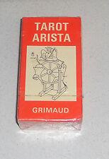 TAROT ARISTA – J.M. Simon Grimaud 1964 Tarocchi Cartomancie NUOVI 78 carte