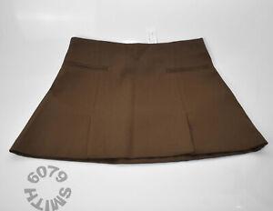 BNWT Zara Khaki Mini Skirt