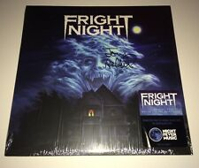 TOM HOLLAND Signed Fright Night LIMITED RELEASE Vinyl LP PROOF Night Fever Music