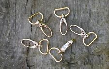 Swivel LOBSTER CLAW CLASPS Trigger Hook Clips for bag Gold Colour for 20mm strap