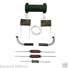 KENWOOD CHEF A700D & MAJOR A706D, 2 EVOX CAP MOTOR REPAIR KIT, BRUSHES & GUIDE