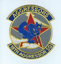 18th AGGRESSOR SQUADRON #1 ENGLISH LETTERS !!THEIR LATEST!! patch