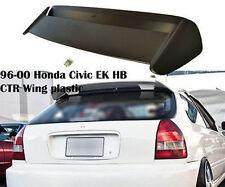 1996-2000 Honda Civic 3DR EK HatchBack Type-R Roof Spoiler W/LED Brake Light ABS