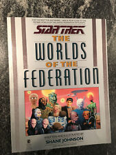 STAR TREK ~ THE WORLDS OF THE FEDERATION ~ 1989