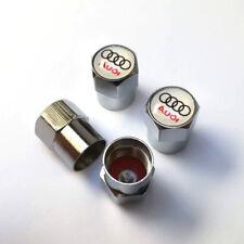 4* Bouchons de valve AUDI jantes alu A3 A4 A5 A6 A7 A8 TT S3 S4 S6 TDI 3.0 V6 S