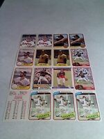 *****John Curtis*****  Lot of 16 cards.....9 DIFFERENT / Baseball