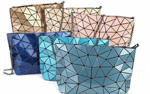 Geometric Laser Cut Designer Look Handbag Bag Clutch Shoulder Bao Bao Inspired