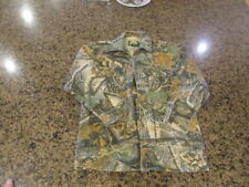 Cabela's For Kids Boys Youth 12 reg Camo Long sleeve Shirt Seclusion 3D heavy