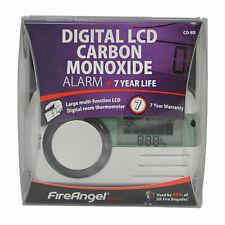 FireAngel CO-9D - Digital LCD Carbon Monoxide Alarm - 7 year life