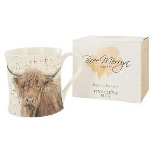 Bree Merryn Highland Cow  Pretty Mug Boxed BR0204