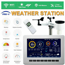 Wireless  Professional Forecast Weather Station WiFi Solar Power UV PTHP2550 PLS