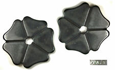 """Cloverleaf Spur Rowels1-3/8"""" Black Steel Sold in Pairs by Metalab Free Ship"""