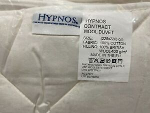 Hypnos CONTRACT WOOL DUVET KING SIZE 225X220 CM RRP £255