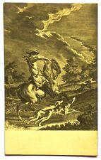 Cartolina Cani – Scena Di Caccia (J.C. Ridinger Rep. Ch. Scolik.)