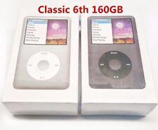"Brand New Apple iPod Classic 6th Gen 160GB MP3 Player Black/Silver ""Sealed"""