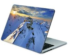 Universal Laptop Skin Notebook Netbook MacBook Aufkleber Cover Sticker Alpen
