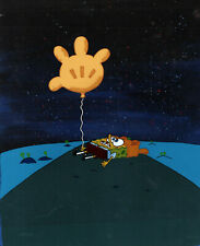 "ALMOST ALL HAND PAINTD CELS ! ""THE BEST""! Spongebob Prod CEL #8120"" ROCK BOTTOM"""