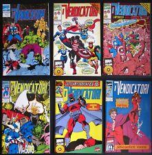 1994 I VENDICATORI lotto 6 albi n° 0 - 1 - 2 - 3 - 4 - 5 - 6  Marvel figurine