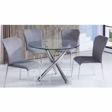 Glass Contemporary Dining Furniture Sets