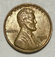 1953 D Lincoln - Wheat Ears Reverse 1 Cent Circulated Coin  (3005)
