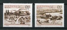 Lithuania 2017 MNH Castles Europa Klaipeda Birzai Castle 2v Set Stamps