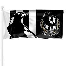 AFL Collingwood Magpies Large Pole Flag (90cm x 180cm)
