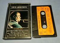 LOUIS ARMSTRONG 20 GOLDEN GREATS THE COLLECTION cassette tape album T8809