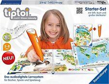 Ravensburger 00504 - Tiptoi Starter-Set: Weltatlas mit Stift Inka Friese