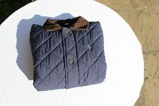 Used Child's Polo Ralph Lauren Quilted Jacket, Size M (10-12) (US), Navy Blue