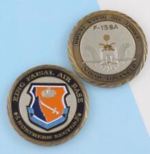 Challenge Coin Kingdom of Saudi Arabia RSAF Royal Saudi Air Force F-15