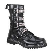 "DEMONIA Gravel-10S 1 1/4"" Heel Closed Toe Calf-High Boot"