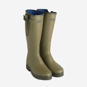 Mens Le Chameau Vierzonord wellies/wellington boot - all sizes - new
