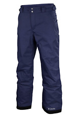 Columbia Men's Ski Snowboard Pants Arctic Trip NWT Insulated Omni Heat Navy Grey