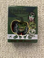 KIRK HAMMETT Monster Mash Enamel Pin Its Alive Horror METALLICA Limited
