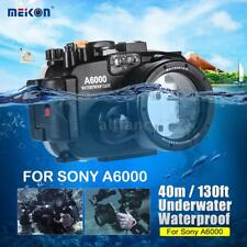 Meikon 40m Underwater Waterproof Diving Housing Camera Case Cover for Sony A6000