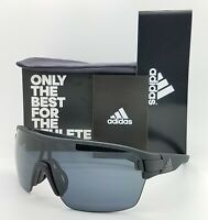 NEW ADIDAS Zonyk Aero L Sunglasses AD06/75 9000 00/0L Black Matte Grey AUTHENTIC
