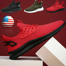 Men's Athletic Running Shoes Jogging Casual Walking Tennis Breathable Sneakers