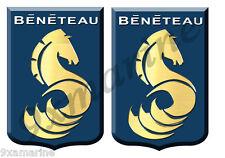 Two Beneteau Blazon Stickers