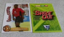 SHOOT OUT CARD 2003/04 (03/04) - Green Back- Manchester United - Quinton Fortune