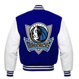 RARE Dallas Mavericks  NBA Varsity Jacket small medium large XL 2XL 3XL