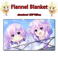 Anime Taimanin Asagi Saika Fuuma Soft Flannel Plush Travel Blanket Gift 1*1.2m