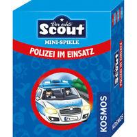 KOSMOS Polizei im Einsatz Kartenspiel Spielzeug Geschenk Scout Minispiel ab 5 J.