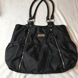 Just One You Carters Black Purse Style Diaper Bag