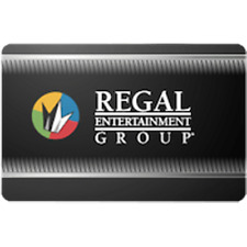 Regal Entertainment Gift Card $10 Value, Only $8.50! Free Shipping!