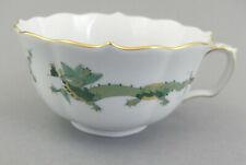 ⚔ Teetasse reicher Drache, grün Obertasse  Meissen - 1.Wahl  Form 00623  320310