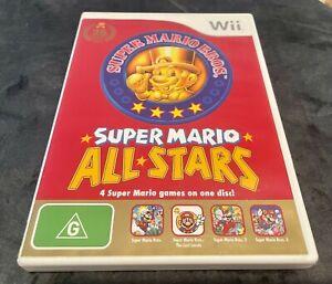 Nintendo Wii Super Mario Bros 25th Anniversary All Stars VGC 2010