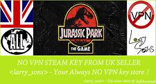 Jurassic Park: The Game Steam key NO VPN Region Free UK Seller