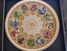 Millennium Literature 1999 Calendar Collectors Plate Wedgwood Queens England