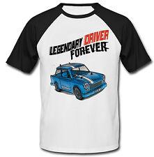 Trabant AUTO TEDESCA leggendario Driver-Nuovo T-shirt Cotone-Tutte le taglie in magazzino